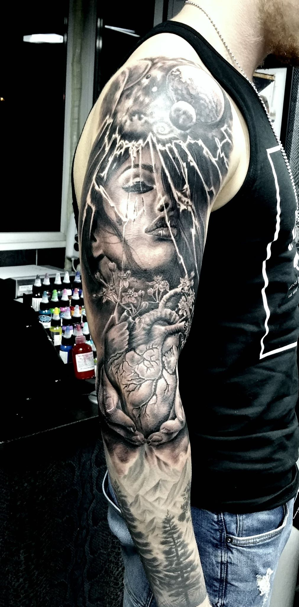 Next Level Tattoos Costi - Moshu Moku